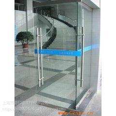 上海浦东玻璃门维修 更换地弹簧 安装玻璃门锁