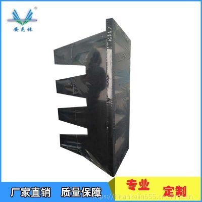 食品厂专用ABS工程塑料外框 亚高效空气过滤器592*292*292