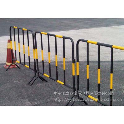 供应隔离用铁马护栏 广西柳州铁马护栏厂家批发