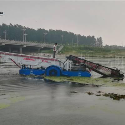 湖面水花生打捞机械 水草收割清理设备价位