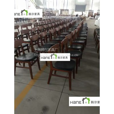 SHANGHAI上海农家菜餐厅实木桌椅 饭馆酒楼餐桌椅定制 韩尔现代中式定制品牌