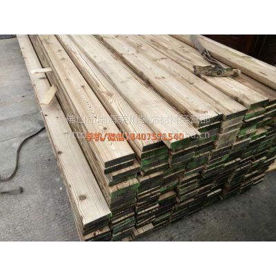 户外防腐木碳化木方木葡萄架地墙板吊顶立柱龙骨围栏碳化木栅栏!