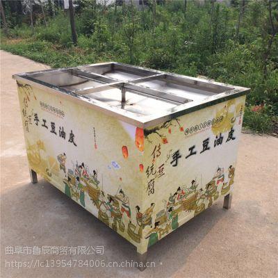 不锈钢手工油皮机价格 定制天然气手工油皮机厂家