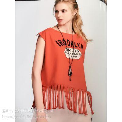 女装店名黄轩宾尼品牌折扣店女装批发哪里便宜时尚多种风格连衣裙