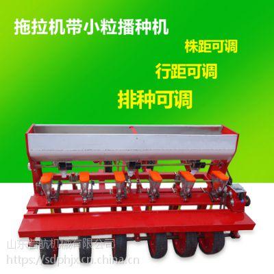 普航 自走式多功能精确播种机 谷子播种机 拖拉机牵引的玉米种植机哪里有卖的
