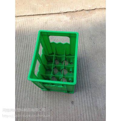 河南祺博24格饮料筐牛奶筐啤酒箱豆奶筐特价
