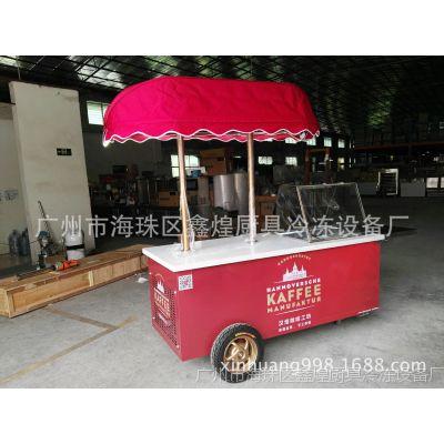 冰友牌冰棒冰棍移动花车冰激凌车雪糕柜展示柜厂家直销