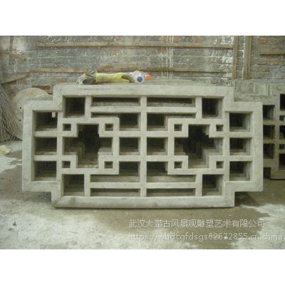 武汉水泥制品厂,园林水泥窗花、各种规格窗花