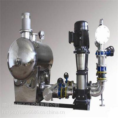医院专用增压供水设备 不锈钢变频无负压供水设备定制