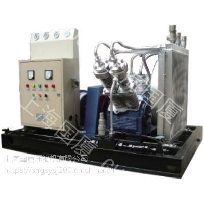 每分钟4立方流量250公斤压力国厦大型高压空气压缩机