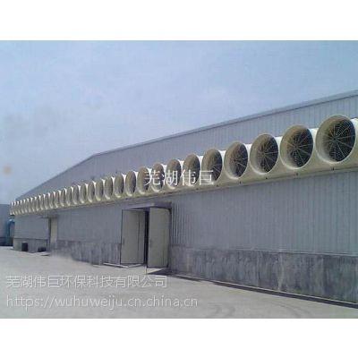 扬州铸造车间通风降温设备,厂房排烟通风降温系统
