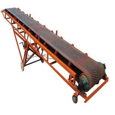 化工原料专用皮带输送机 兴亚裙边皮带机厂家图片