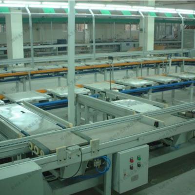 倍速链装配线_非标定制_良好一站式服务_厂家直销_郑州水生机械