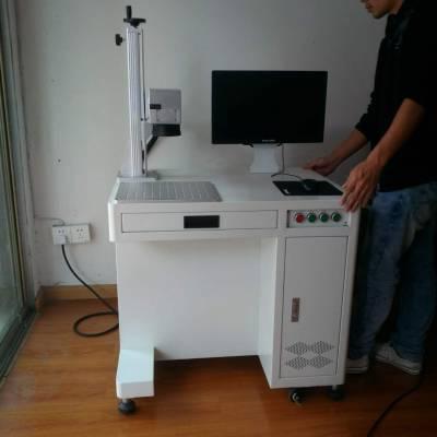 成都金属产品logo激光打标机,成都塑料制品商标二维码激光打码机,激光刻字机
