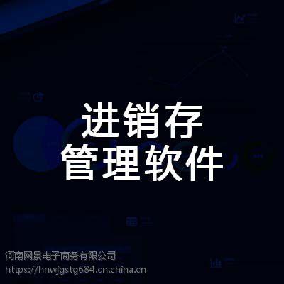 郑州进销存管理软件的特点 河南网景服务商