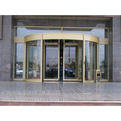 万江安装玻璃自动门,电子感应自动玻璃门