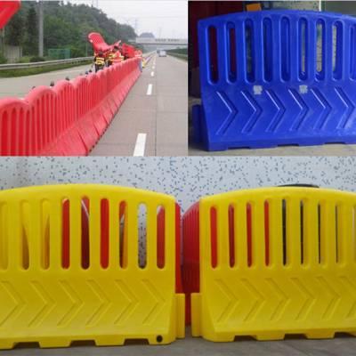 移动护栏水马 安检口路障路阻 塑料警示围栏质量保证