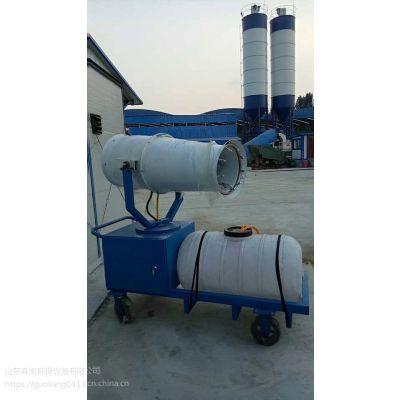 枣庄雾炮机晒水方案除尘雾炮机型号小区价格