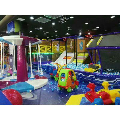 开欣童伴室内儿童乐园淘气堡商场游乐场设备水上乐园百万球池大蹦床