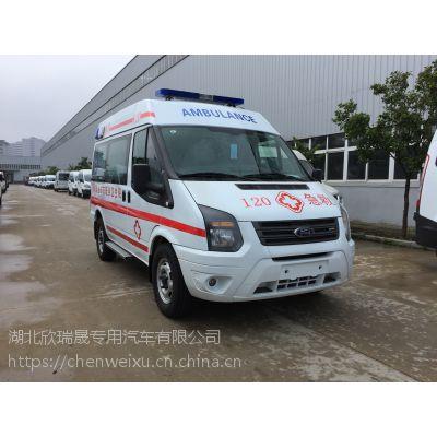 江铃特顺救护车厂家直销 救护车价格