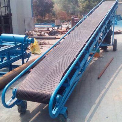 沙场pvc皮带输送机 兴亚传送输送机价格生产