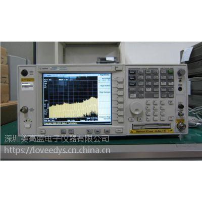 低价租售44GHZ频谱分析仪安捷伦E4446A测射频、微波和毫米波