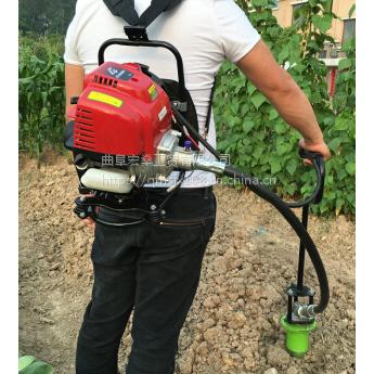 果树苗打孔机 背负式打塘机 快速种烟苗机