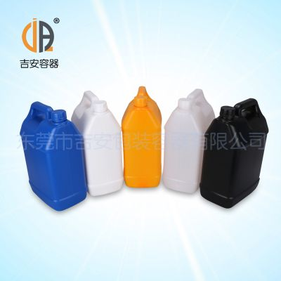 供应塑料罐5L扁罐 5kg包装桶 化工桶