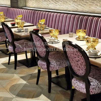 乐山市简约现代快餐桌椅家具厂直销减少中间价