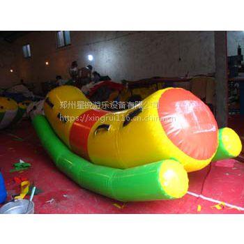 儿童水上乐园充气乐园设备 水上玩具翘翘板 水上浮具