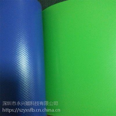厂家直销绿色防水防晒阻燃耐酸碱刀刮夹网帆布篷布13823301296可做水池泳池