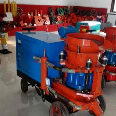 中拓泵送湿式混凝土喷浆机防爆工作矿用无忧
