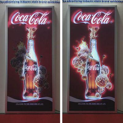 led超薄动感灯箱 2cm超薄动感广告灯箱定制