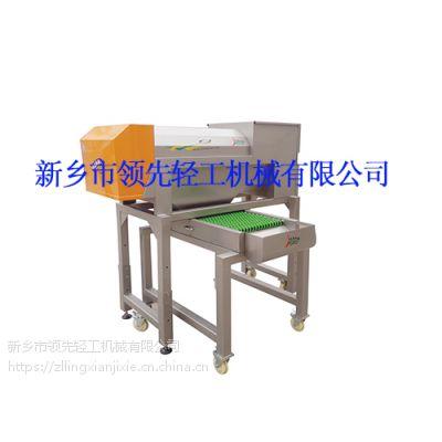 专业葡萄除梗设备-转筒式除梗粒选机3吨/小时
