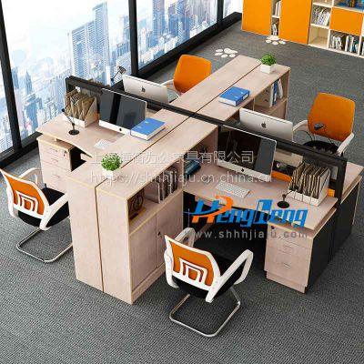 定制横衡办公座屏员工办公桌WS444