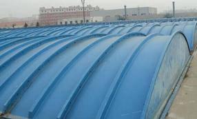 郯城县污水池玻璃盖板、河南污水池盖板、污水池玻璃盖板设备