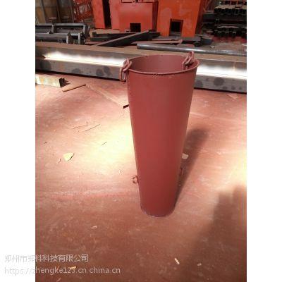 江苏溧阳郑科标准型加厚溜槽串筒节数任意调