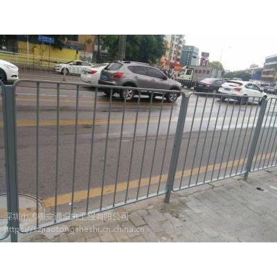 现货深标路测护栏,鸿粤隔离护栏直销,市政道路隔离栏