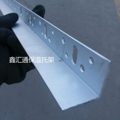 嵌固带H型铝合金保温托架挤塑板托架