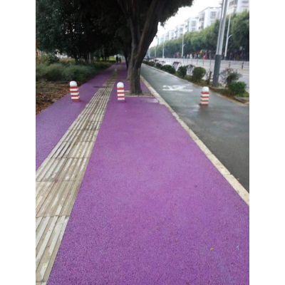 长宁县彩色路面喷涂让路面颜色不再单调
