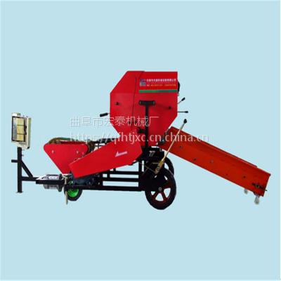 宏泰常年供应高性能青贮打捆包膜机 玉米秸秆打捆机