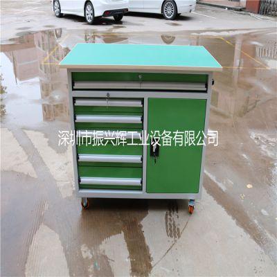 深圳振兴辉厂家供应车间6抽1门工具车 移动多功能工具车定做