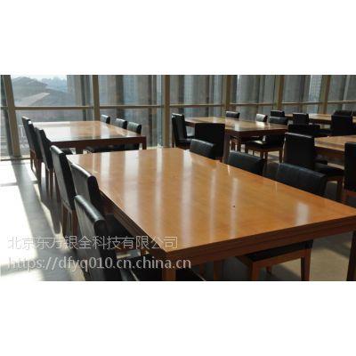 图书馆阅览桌四人桌阅览室桌子厂家定制
