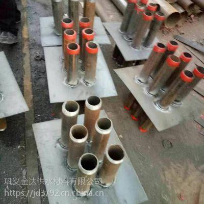 大同07fd02人防电气镀锌套管 热镀锌穿线电气联排密闭套管厂家