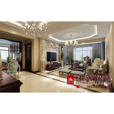水木清华-惬意和浪漫现代欧式-哈尔滨红枫叶装饰