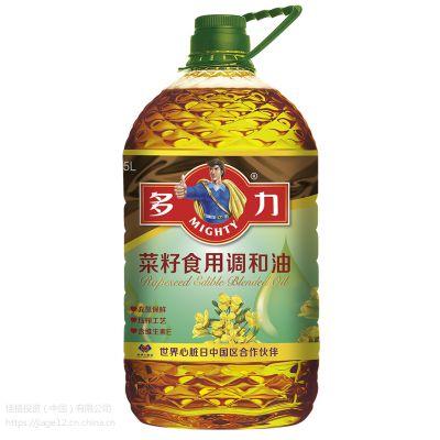 多力浓香菜籽油(5L)