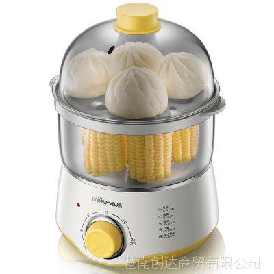 小熊不锈钢煮蛋器蒸蛋器加深发热盘双层容量送蒸碗ZDQ-A07U1