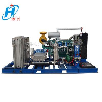 高压水清洗机 宏兴牌HX-2503型潍柴动力柴油机驱动