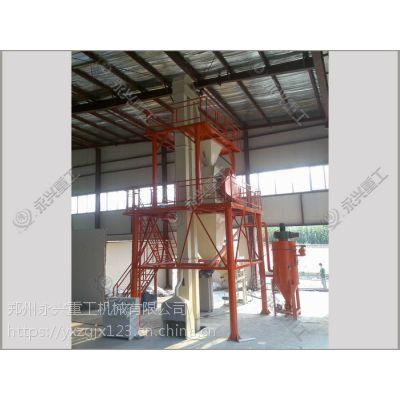 郑州永兴全自动干粉砂浆成套生产设备组成部分有哪些?