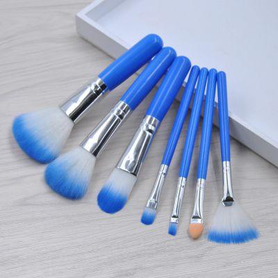 kainuoa/凯诺工厂批发7支化妆刷套装 美妆工具直销 不带盒子